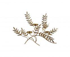 κηροπήγιο με φύλλα